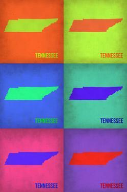 Tennesse Pop Art Map 1 by NaxArt