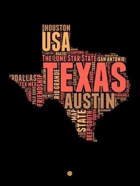 Texas Word Cloud 1 by NaxArt