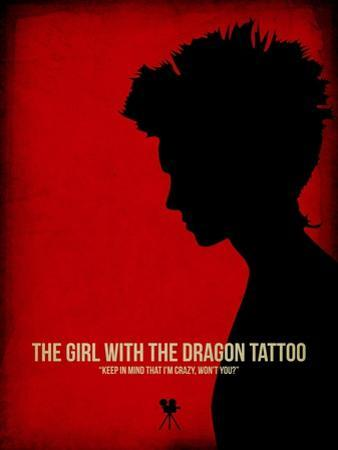 The Girl with a Dragon Tattoo by NaxArt