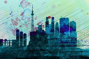 Tokyo City Skyline by NaxArt