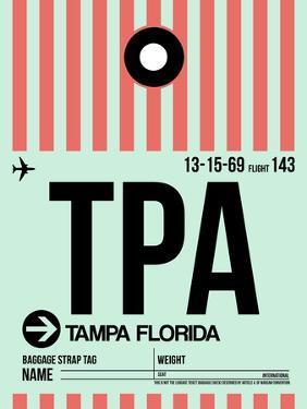 TPA Tampa Luggage Tag 1 by NaxArt