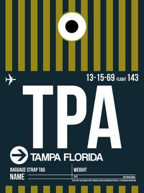 TPA Tampa Luggage Tag 2 by NaxArt