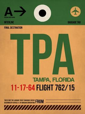 TPA Tampa Luggage Tag I by NaxArt