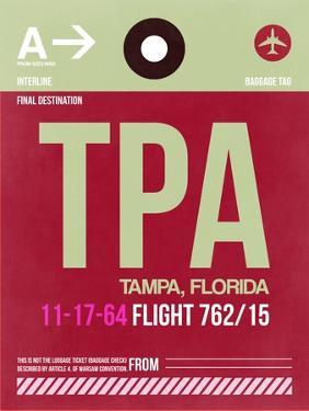 TPA Tampa Luggage Tag II by NaxArt
