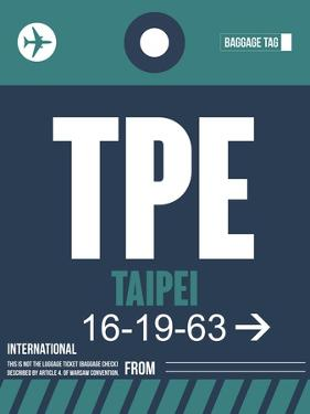 TPE Taipei Luggage Tag 1 by NaxArt