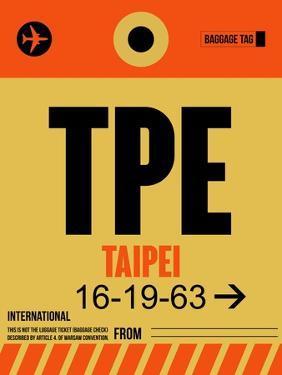 TPE Taipei Luggage Tag 2 by NaxArt