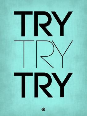 Try Try Try Blue by NaxArt