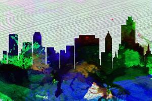 Tulsa City Skyline by NaxArt