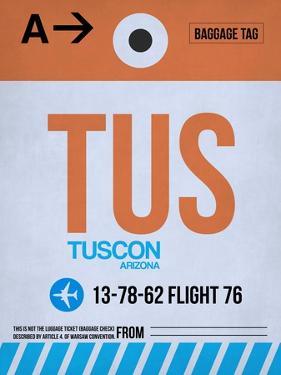TUS Tuscon Luggage Tag II by NaxArt