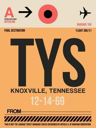 TYS Knoxville Luggage Tag I by NaxArt