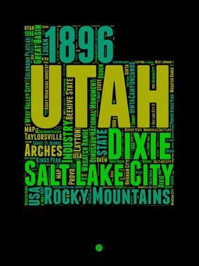 Utah Word Cloud 1 by NaxArt