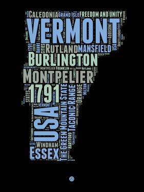 Vermont Word Cloud 1 by NaxArt