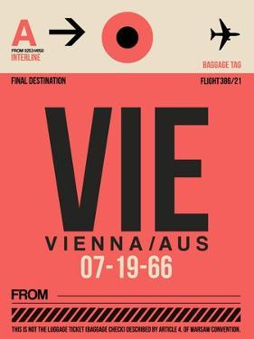 VIE Vienna Luggage Tag 1 by NaxArt