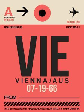 VIE Vienna Luggage Tag 1 by NaxArt
