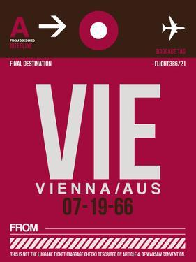 VIE Vienna Luggage Tag 2 by NaxArt