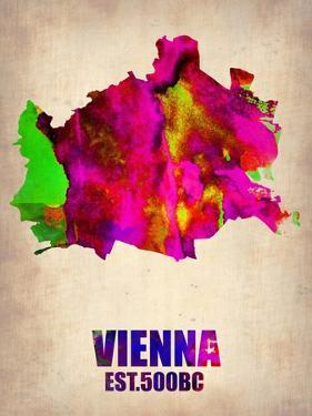 Vienna Watercolor Poster by NaxArt
