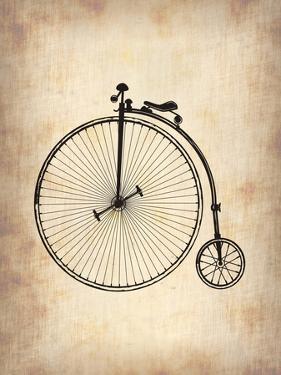 Vintage Bicycle by NaxArt