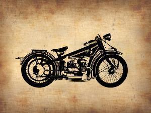 Vintage Motorcycle 1 by NaxArt