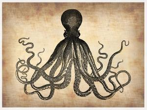 Vintage Octopus by NaxArt