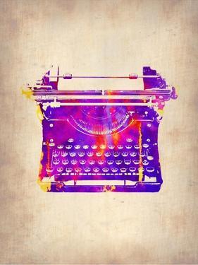 Vintage Typewriter 1 by NaxArt