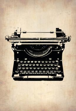Vintage Typewriter 2 by NaxArt