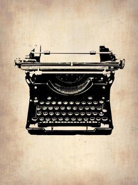 Vintage Typewriter 2 by NaxArt