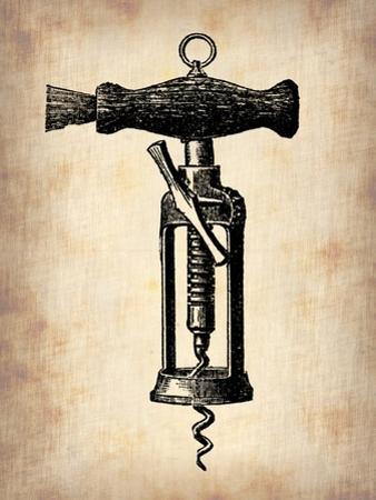 Vintage Wine Opener 4 by NaxArt