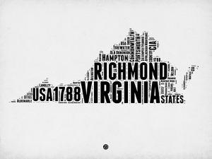 Virginia Word Cloud 2 by NaxArt