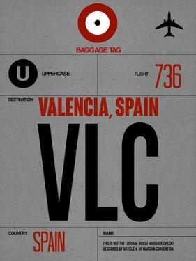 VLC Valencia Luggage Tag I by NaxArt