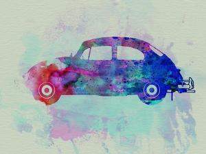 VW Beetle Watercolor 1 by NaxArt