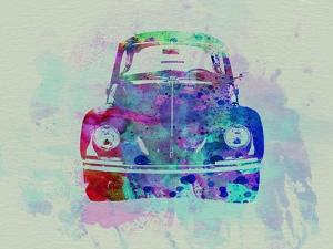 VW Beetle Watercolor 2 by NaxArt