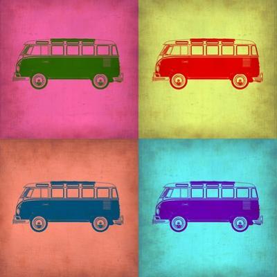 VW Bus Pop Art 1 by NaxArt