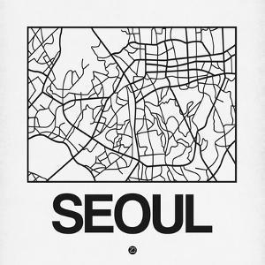 White Map of Seoul by NaxArt