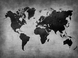 Awesome Black And White World Map Photos - Printable Map - New ...
