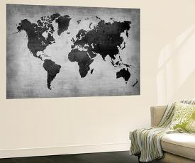 Affordable map wall murals posters for sale at allposters world map 8 by naxart gumiabroncs Choice Image