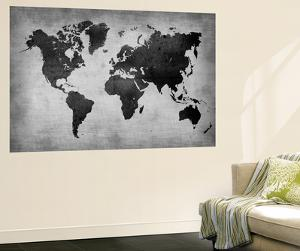 Map wall murals posters for sale at allposters world map 8naxart wall mural gumiabroncs Choice Image