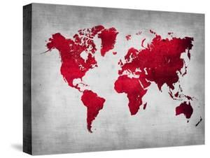 Map canvas posters for sale at allposters world map 9naxart gumiabroncs Choice Image