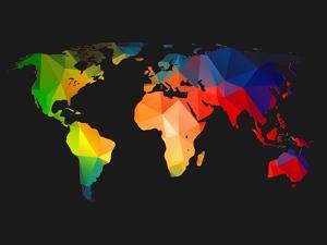 World Wire Map 1 by NaxArt