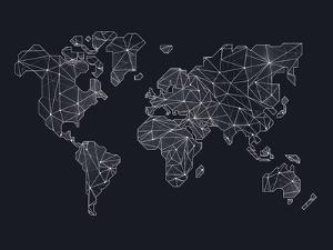 World Wire Map 4 by NaxArt
