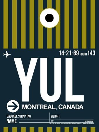 YUL Montreal Luggage Tag 1