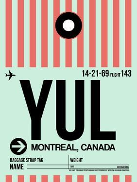 YUL Montreal Luggage Tag 2 by NaxArt