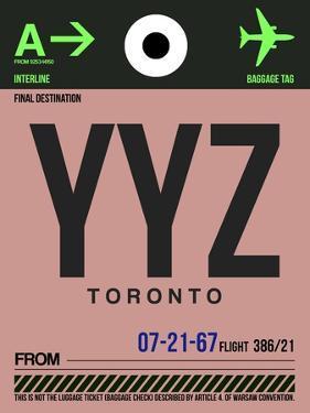 YYZ Toronto Luggage Tag 2 by NaxArt
