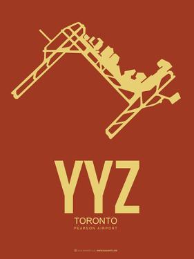 Yyz Toronto Poster 1 by NaxArt