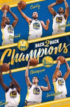 NBA 2018 Golden State Warriors NBA Finals - Champions