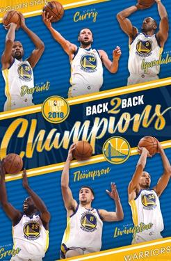 NBA 2018 Golden State Warriors NBA Finals - Champions