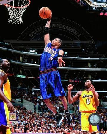 NBA Allen Iverson 1999 Action