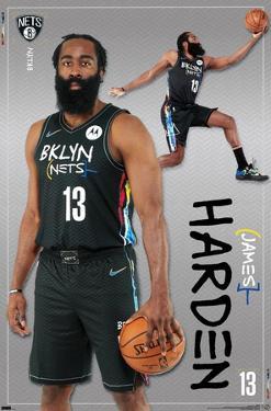 NBA Brooklyn Nets - James Harden 21