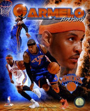 NBA Carmelo Anthony 2011 Portrait Plus
