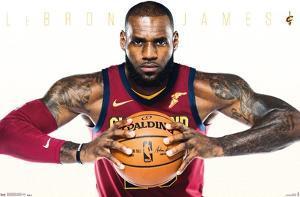 NBA Cleveland Cavaliers - Lebron James 17