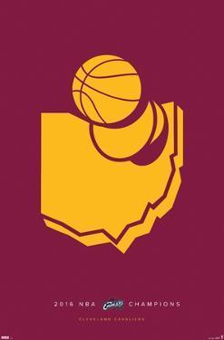 NBA Cleveland Cavaliers - Minimalist Champions 2016